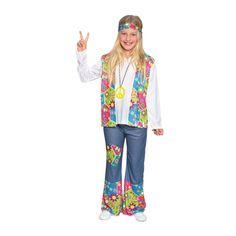 Déguisement Hippie Fille #déguisementsenfants #costumespetitsenfants #nouveauté2015