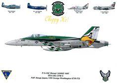 F/A-18C Hornet VFA-195 CVW-5