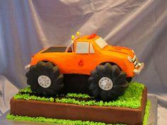 Monster Truck Cake @Monica Rodriguez