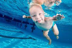 Sawyer Beattie - 10 Most Adorable Photos of Underwater Babies by Seth Casteel
