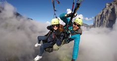 Imagine flying like a bird in Switzerland's glorious Jungfrau Region with emerald lakes below, verdant hillsides all around and a backdrop of the awe-inspiring Eiger, Mönch and Jungfrau Mountains. Don't miss the paragliding tandem flight in Interlaken.