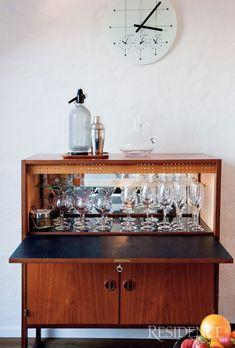 liquor cabinet. Old school.