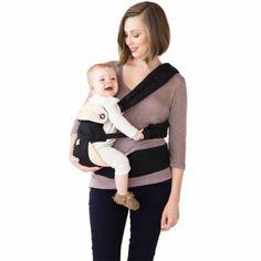 Ergobaby Four Position 360 Baby Carrier - Side Position // Four ways to take baby anywhere - Back, Side (on the hip), front-inward, and front-outward