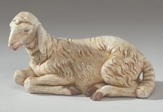 """Fontanini Seated Sheep 27"""" scale - Masterpiece Collection $159.00"""