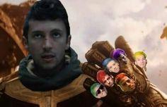Tøp Tyler and Josh as Thanos and the Infinity Gauntlet/ stones Twenty One Pilots, Twenty One Pilot Memes, Tyler Joseph, Tyler And Josh, Hayley Williams, Lp Laura Pergolizzi, Ohio, Top Memes, Band Memes