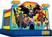www.BounceandRebound.com (623-396-JUMP) Justice League Rents for $99 Measures 15'L, 15'W