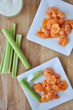 grilled buffalo shrimp, yes please.