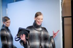 Salvatore Ferragamo Fall 2014 - Backstage - Photographed by Andrew Miller