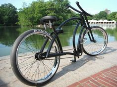 After seeing a few bikes now fitted with thickslick tyres, I would like to see a page dedicated to cruisers, klunkers and anything else using fat slick. Cruiser Bicycle, Bike Design, Custom Bikes, Cool Bikes, Badass, Projects, Log Projects, Touring Bike, Motorcycle Design