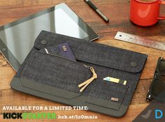Our Elon iPad folio case is made of 100% Organic cotton denim. Just like your favorite pair of jeans, it will age beautifully over time. Get yours now only on Kickstarter: http://kck.st/1o0mnix  #wallet #denim #mensstyle #fashion #dapper #man #rawdenim #jeans #jcrew #ralphlauren #vintage #america #madeinusa