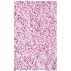 Shop for Shaggy Raggy Pink Cotton Rug (2'8x4'8). Get free shipping at Overstock.com - Your Online Home Decor Outlet Store! Get 5% in rewards with Club O!