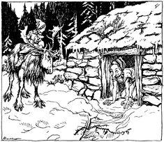 arthur rackham_andersen_the snow queen