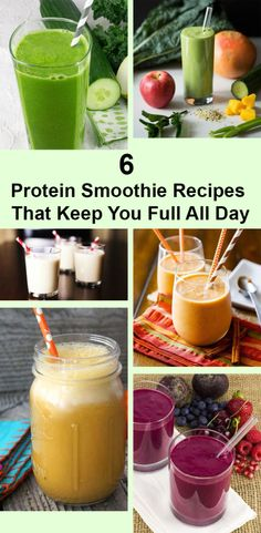 6 Protein Smoothie Recipes That Keep You Full All Day