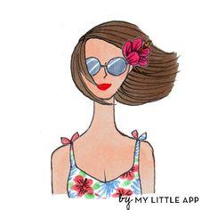 Fashion Illustration by Kanako