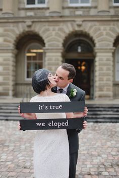 Julia and Sierra, maybe I can use this idea some day to let you know I've eloped!  Lol! @juliahess35 @snoberholtzer