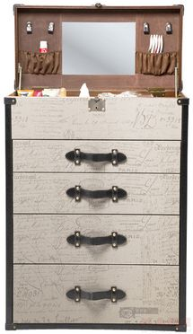 Chest+Vintage++Make+Up+4+Drawers