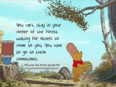 25 Heart Warming Quotes From Winnie The Pooh That Wll Brighten Up Your Day Winnie The Pooh Quotes, Winnie The Pooh Friends, Tao Of Pooh, Heart Warming Quotes, Pooh Bear, Eeyore, Disney Quotes, Life Lessons, Funny Quotes