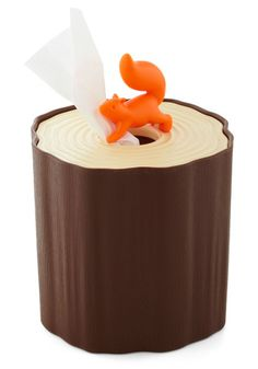 This squirrel tissue box cover will make your day... every day.