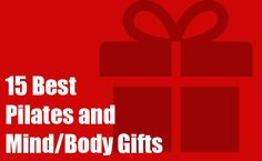 The Ultimate Pilates Gift Guide | Pilates Bridge  This has some decent suggestions and its worth a glance. #pilates #pilatesgifts #pilatesinstructor