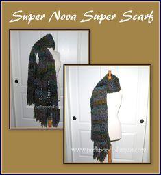 Posh Pooch Designs Dog Clothes: Super Nova Super Scarf Crochet Pattern   Posh Pooch Designs