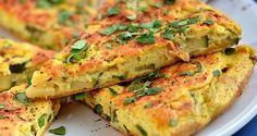 Easy Zucchini/Courgette Omelette