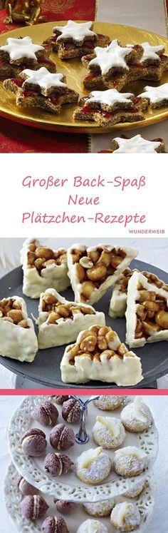 Mit diesen kreativen Plätzchen wird Weihnachten noch köstlicher! #plätzchen #plätzchenbacken #weihnachtsbäckerei
