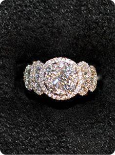 Diamond #Ring 18K White Gold 2.48 Carats #Diamonds. http://jangmijewelry.com/