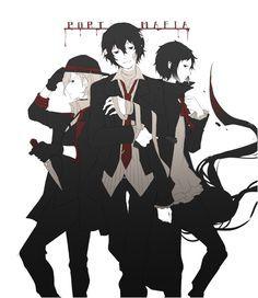 Atsushi, Dazai y Akutagawa