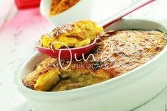 ΠΑΤΑΤΕΣ ΟΓΚΡΑΤΕΝ Appetisers, Greek Recipes, Cauliflower, Macaroni And Cheese, Side Dishes, Salads, Potatoes, Meat, Chicken