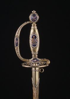 English Presentation Smallsword, 18th century