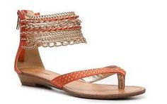 Image result for orange sandals