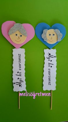 grandparents day crafts for preschoolers Yallar haftas etkinligi Grandparents Day Activities, Grandparents Day Cards, Preschool Crafts, Crafts For Kids, Arts And Crafts, Art Activities, Kids And Parenting, Art Lessons, Origami