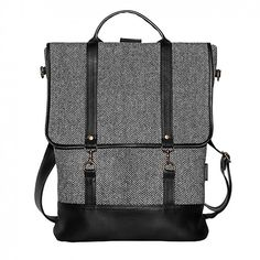 Mum-ray / Tweedy bagpack l
