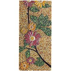 Mosaic Floral Panel