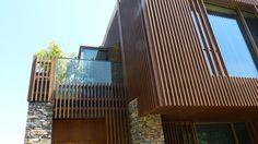 Фасадная доска | отделка фасадов домов деревом | деревянные фасады домов | планкен термо