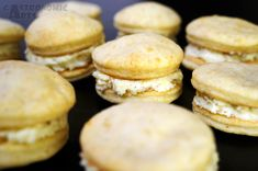 Whoopies 3 fromages / 3-cheese whoopies