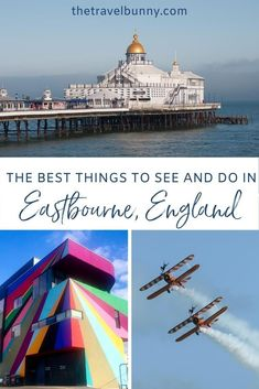A guide to exploring Eastbourne, East Sussex. What to see and do in Eastbourne on England's south coast, where to stay, coastal walks, fortresses, piers and bandstands #Eastbourne #EastSussex #travelguide Travel Advice, Travel Guides, Travel Tips, Stuff To Do, Things To Do, Uk Holidays, Weekend Breaks, European Destination, East Sussex