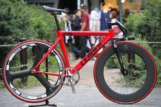 LEADER BIKES 725TR RED Custom - LEADER BIKE 725tr - Complete Bike
