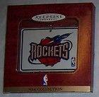 For Sale - 4 HOUSTON ROCKETS BASKETBALL CHRISTMAS ORNAMENT HALLMARK KEEPSAKE FREE U.S. SHIP - http://sprtz.us/RocketsEBay