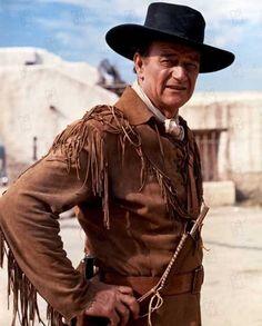 "THE ALAMO (1960) - John Wayne as ""Colonel Davy Crockett"" - Produced & Directed by John Wayne - United Artists - Production Still."