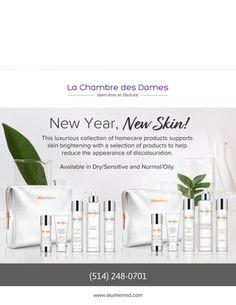 New Year! New Skin! New Skin, Skin Brightening, News, Blog, Products, Brighten Skin, Lighten Skin