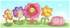 Flower Fields by Cavea.deviantart.com on @deviantART