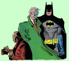 The late 1980s/early 1990s Batman from artist Norm Breyfogle. I love the way Norm did the Bat emblem, big and bold.
