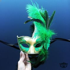 Masquerade Mask Feather Masquerade Mask Feather by 4everstore