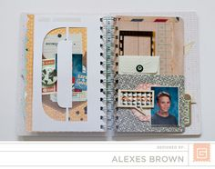 Alexes Brown - Carte Postal Mini Basic Grey, Mini Albums, Cart, Brown, Design, Covered Wagon, Brown Colors, Extended Play
