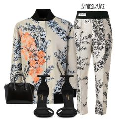 """""""Untitled #783"""" by harrisjazmin on Polyvore featuring Fendi, Yves Saint Laurent and Givenchy"""