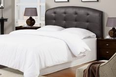 Contemporary Headboard in Black by Poundex *** Check this awesome product by going to the link at the image.