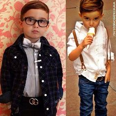 outfit photo idea for ryder (white shirt, jeans and suspenders)