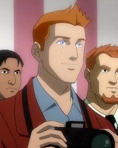 Justice League War Jimmy Olsen, Become A Photographer, Bruce Timm, Super Man, Lois Lane, Comics Universe, Young Justice, Justice League, Dc Comics