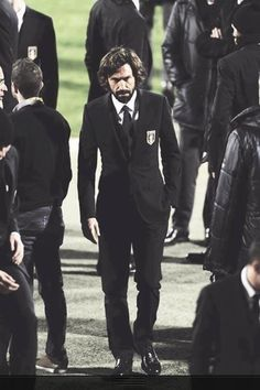 Pirlo wears a suit like no-one can